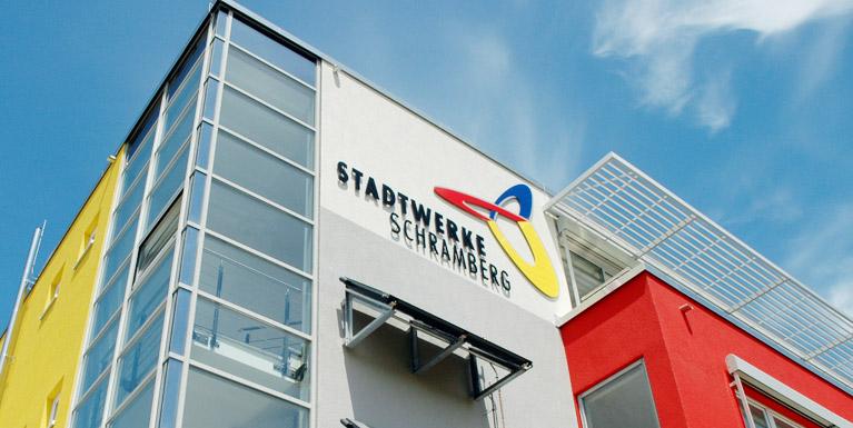 Gebäude der Stadtwerke Schramberg