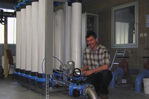 Bild Ultrafiltrationsanlage Wasserwerk Eichbach