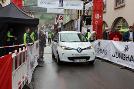 Unser Elektroauto beim Stadtfest