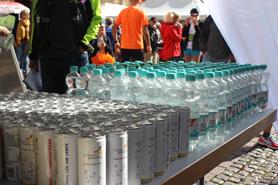 Getränke für die Läufer