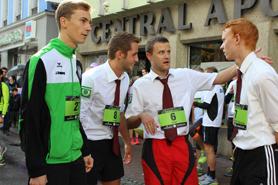 Läufer beim Team Run