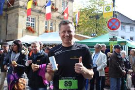 Herr Kälble vor dem Start beim Team Run