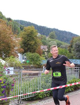 Herr Kälble während des Team Runs