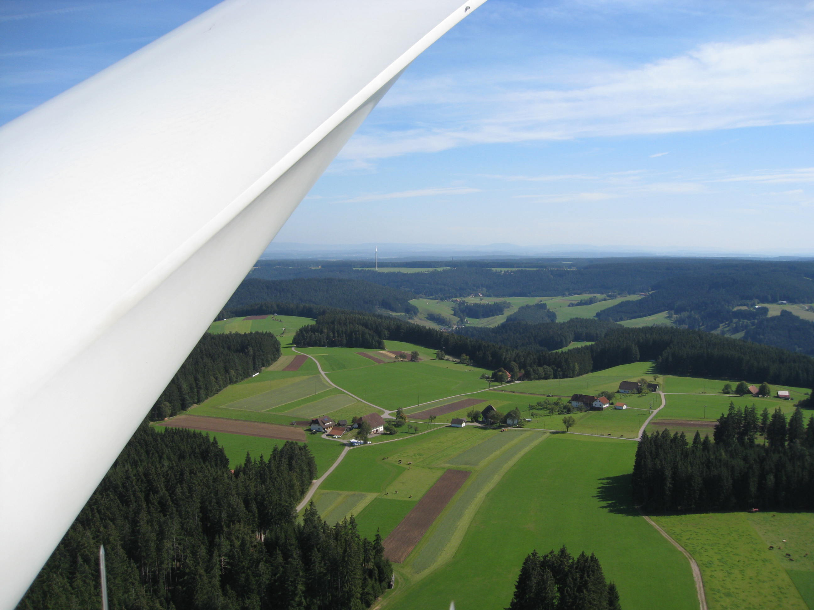 Bild Rotorblatt Windkraftanlage