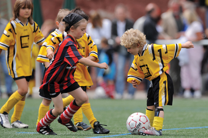 Bild Fussball Kind