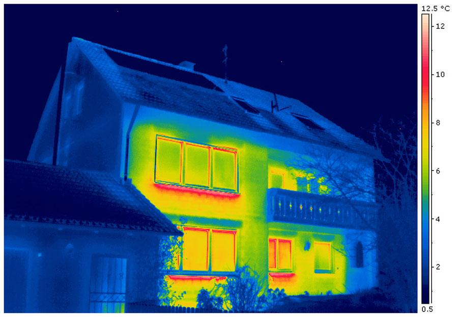 Beispielbild Thermografie