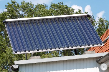 Foto Solaranlage solitär