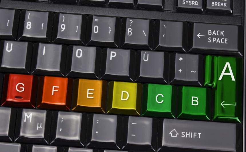 Foto Energieeffizienz Tastatur