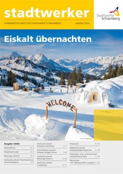 Ausgabe Stadtwerker 01/2020
